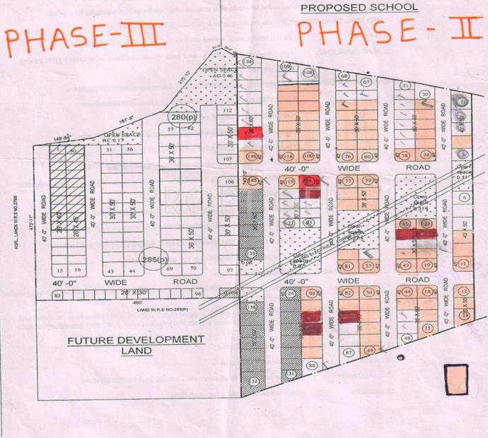 Images for Layout Plan of STBL Vyjayanthi Gardens