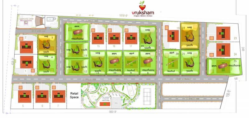 Images for Master Plan of Vruksham Malai Marungil