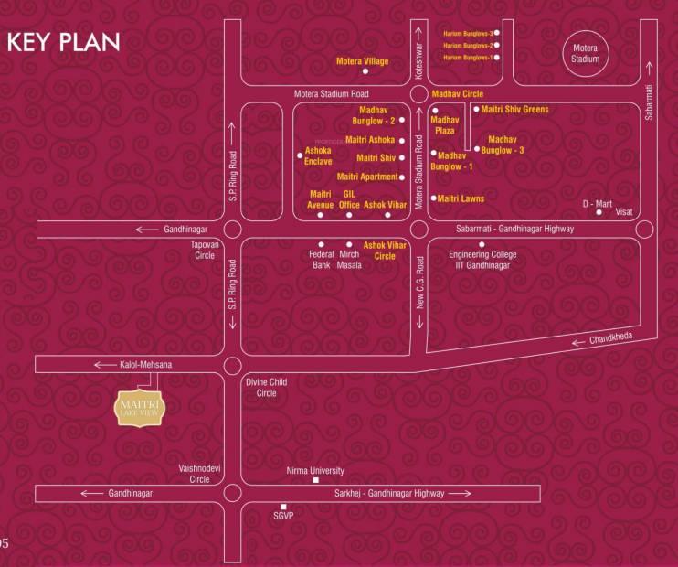 Images for Location Plan of Gayatri Maitri Lake View
