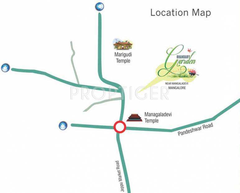 Images for Location Plan of Bhandary Garden