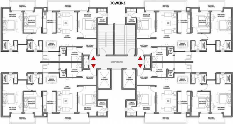 Images for Cluster Plan of Saha Meghdutam Encore