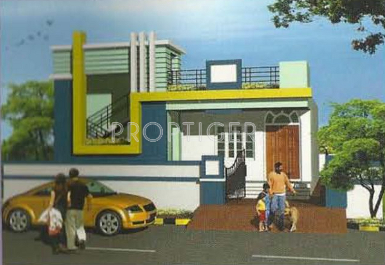 Single Floor East Facing Elevation : Sq ft bhk t villa for sale in stbl lakshmi