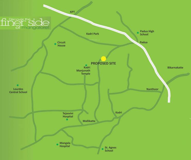 Images for Location Plan of Bhandary Park Inn