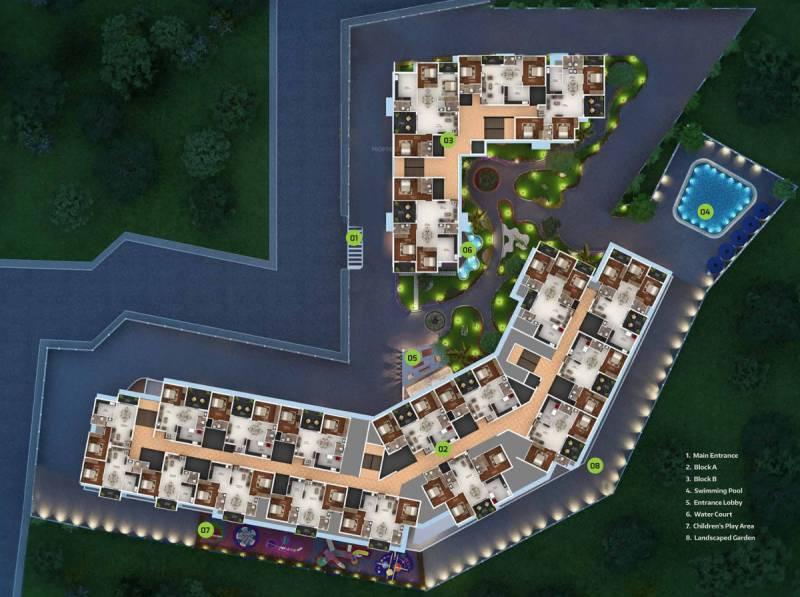 Images for Master Plan of Bhandary Park Inn