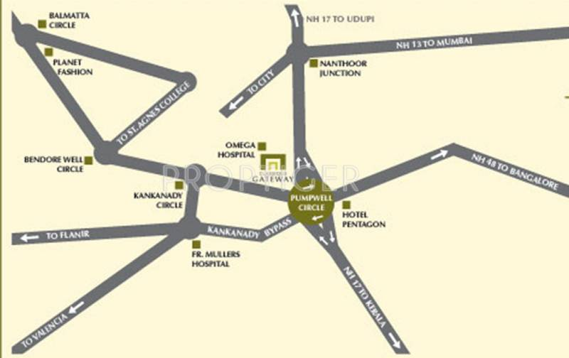 Images for Location Plan of Mahabaleshwara Classique Gateway
