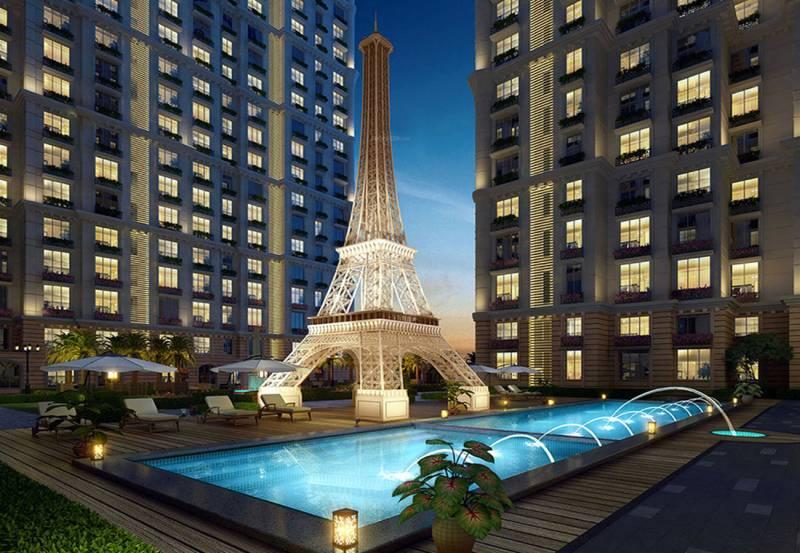 paris Images for Elevation of Kanakia Paris
