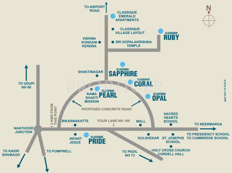 Images for Location Plan of Mahabaleshwara Classique Ruby