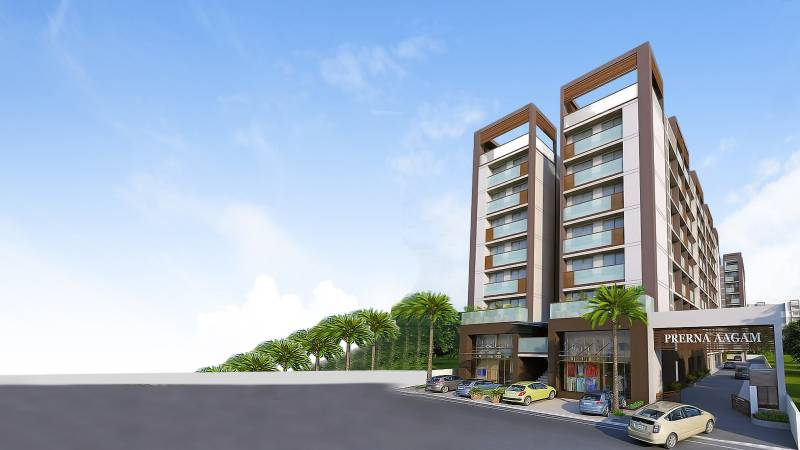 aagam Images for Elevation of Prerna Aagam