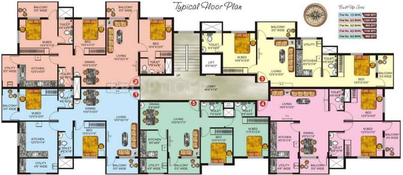Images for Cluster Plan of Vishwas Dwarka