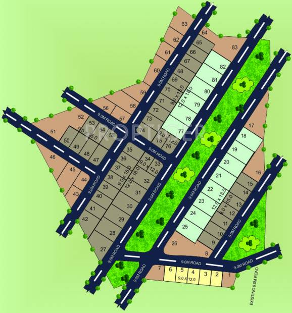 Images for Layout Plan of Manasa Tej