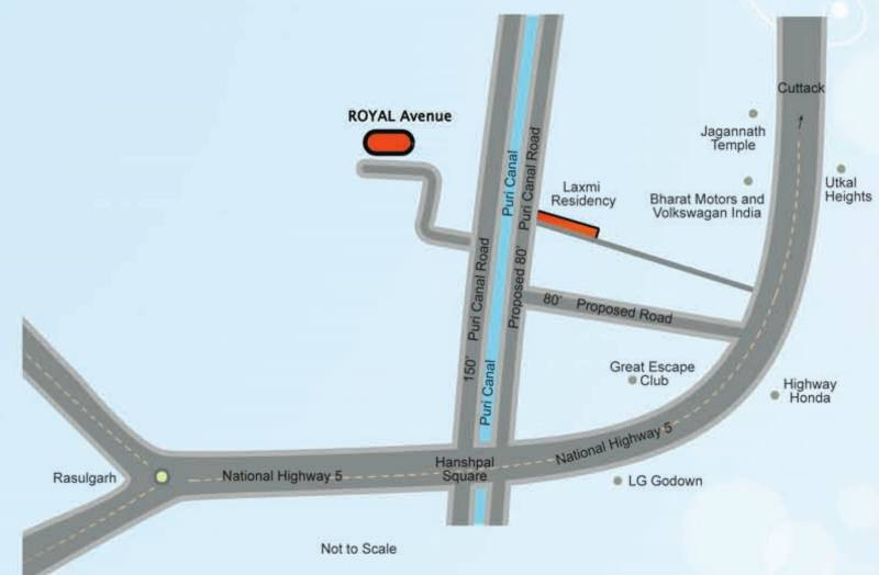 Images for Location Plan of Laxmi Royal Avenue