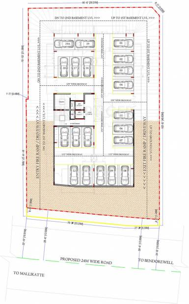 Images for Cluster Plan of Land Roopali