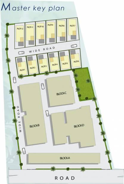 Images for Master Plan of Royal Retreat Sai Chandra Tirtha Heights