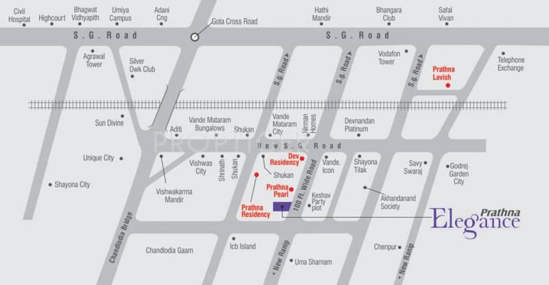 Images for Location Plan of Prathna Elegance