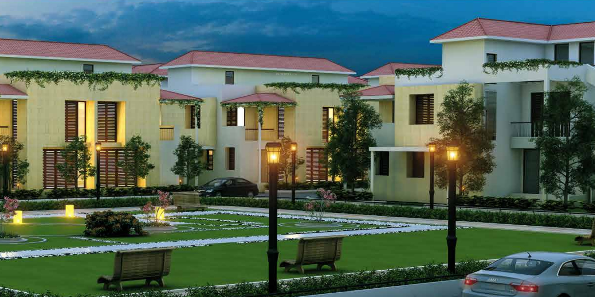 1850 sq ft 3 BHK 3T Villa for Sale in Adventz Infraworld Zuari ...