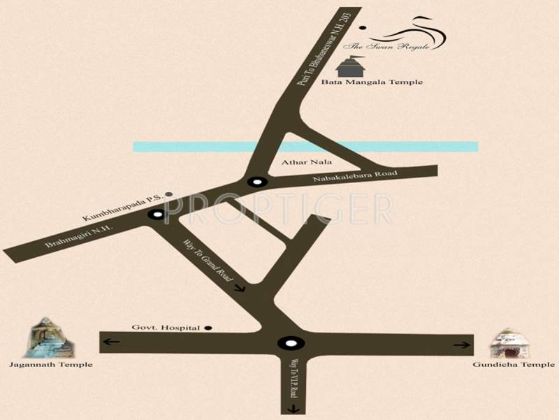Images for Location Plan of Sequel Infra The Swan Regale