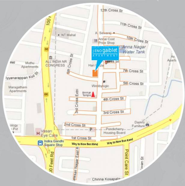 Images for Location Plan of Jeno Gaiblet