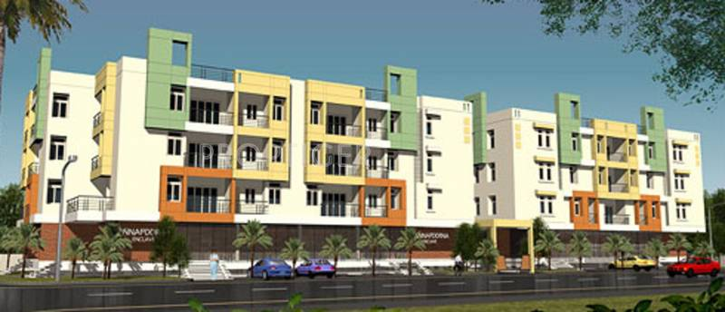putha-builders-and-developers ananda-nilaya Elevation