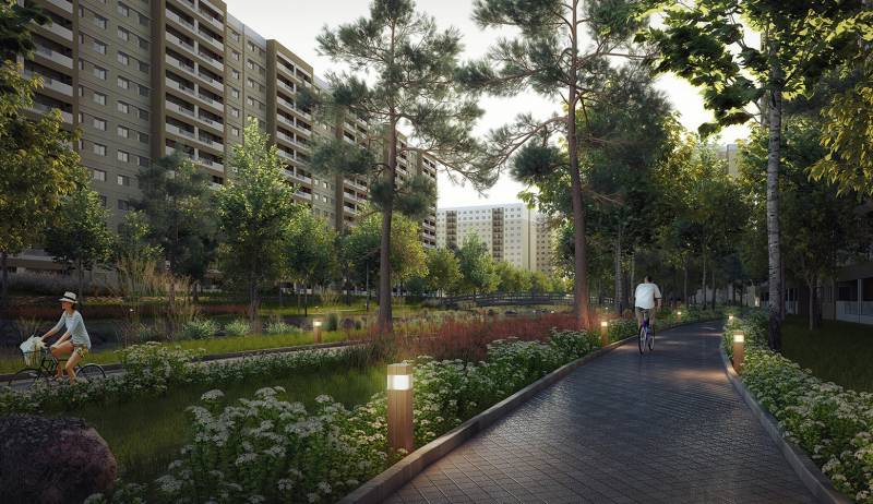 Images for Elevation of Sobha Rain Forest at Dream Acres