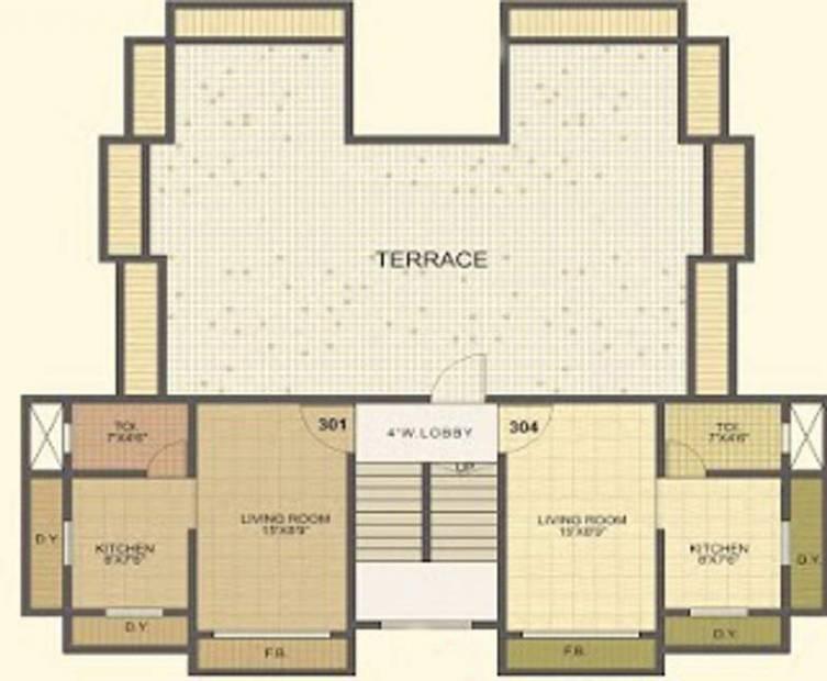 Images for Cluster Plan of Tulsi Nandan
