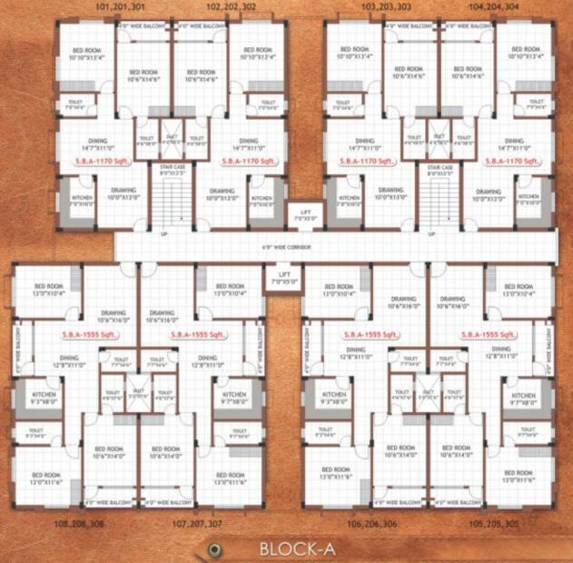 Images for Cluster Plan of SB Kokila Enclave Phase II
