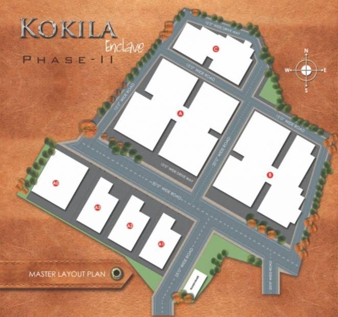 Images for Layout Plan of SB Kokila Enclave Phase II