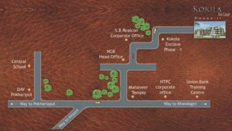 Images for Location Plan of SB Kokila Enclave Phase II