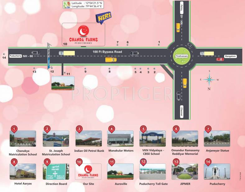 Images for Location Plan of Manju Chanda Farms