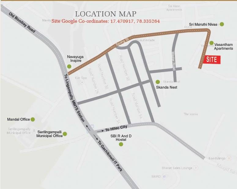 Images for Location Plan of Shubham Builders and Developers Blooms