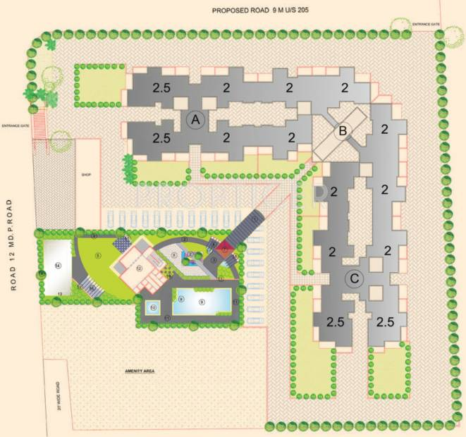 Images for Layout Plan of Atul Nilaya