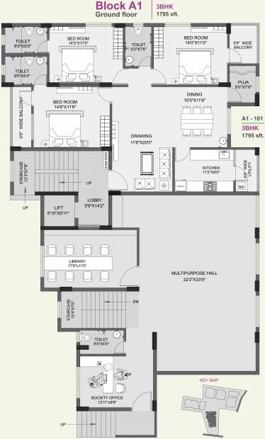 Images for Cluster Plan of SB Kokila Green