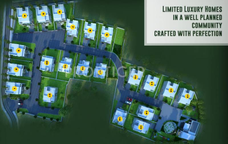 Images for Site Plan of Afford Dream Cocoon
