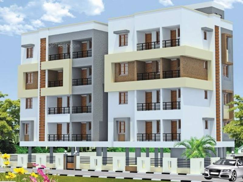 al-housing-pvt-ltd brindavanam Elevation
