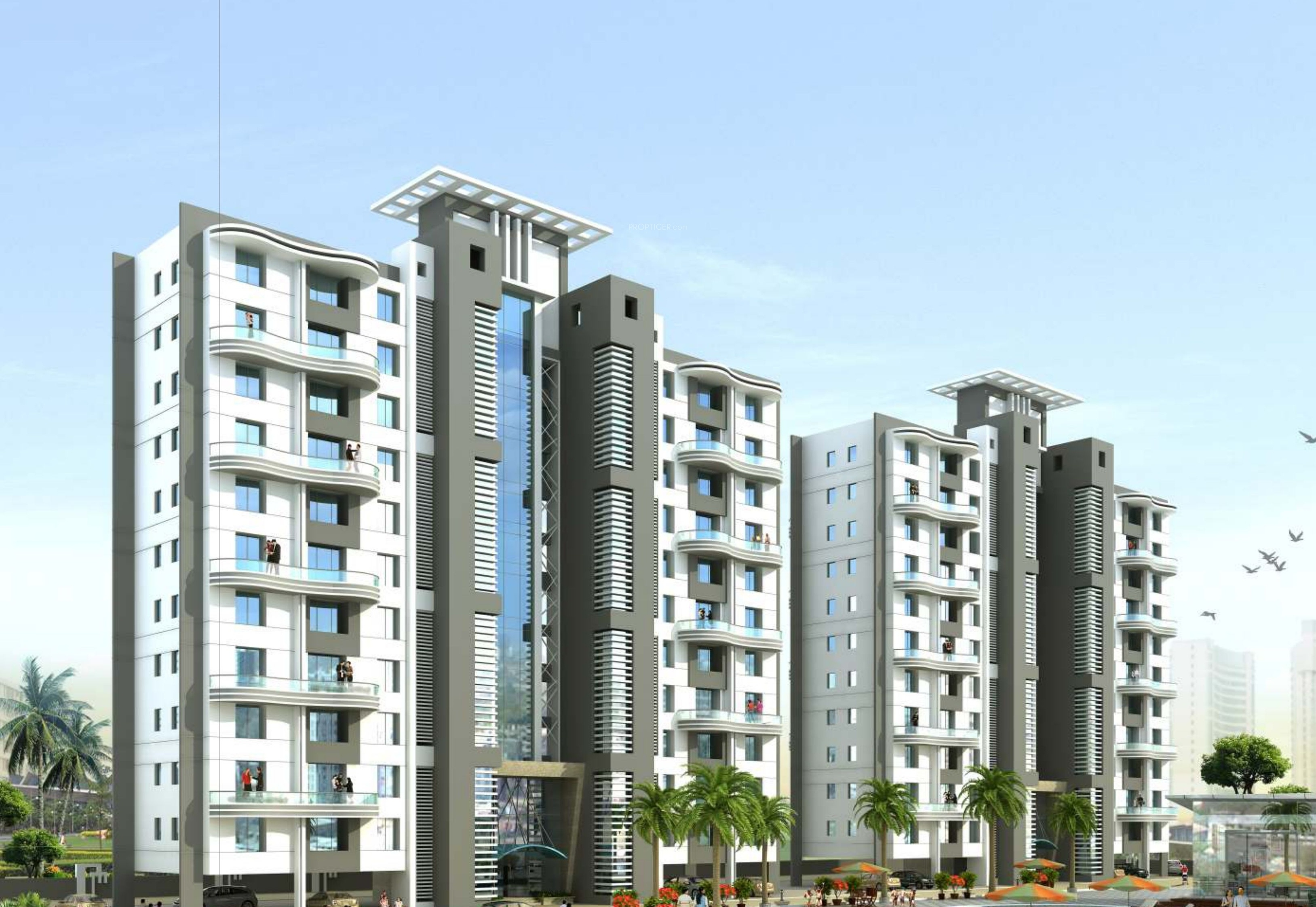 1288 sq ft 2 bhk 2t apartment for in yash builders and 1288 sq ft 2 bhk 2t apartment in yash builders and developers twin tower