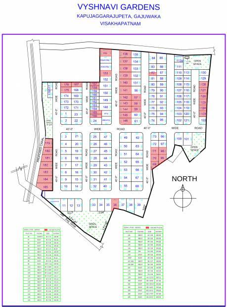 Images for Layout Plan of STBL Vyshnavi Gardens