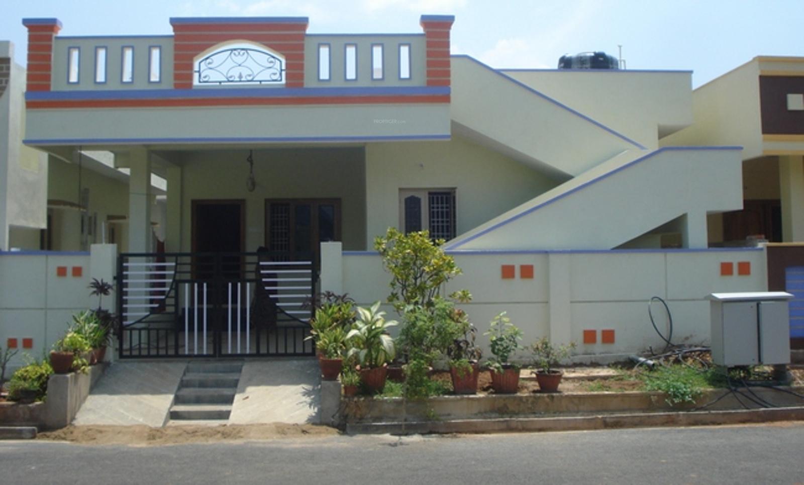Single Floor House Elevation In Hyderabad : Stbl vyshnavi gardens in kurmannapalem visakhapatnam