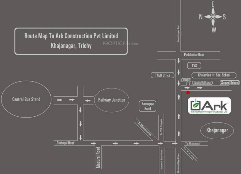 ark-construction cresent-paark Location Plan
