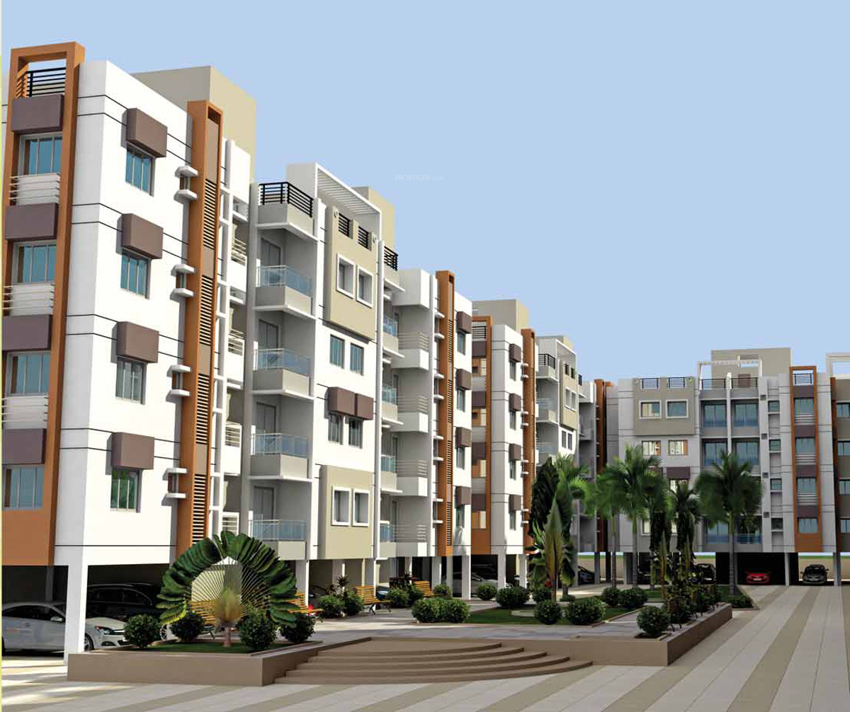 Apartments By Location: Bloomsbury Convicity Apartments In New Town, Kolkata