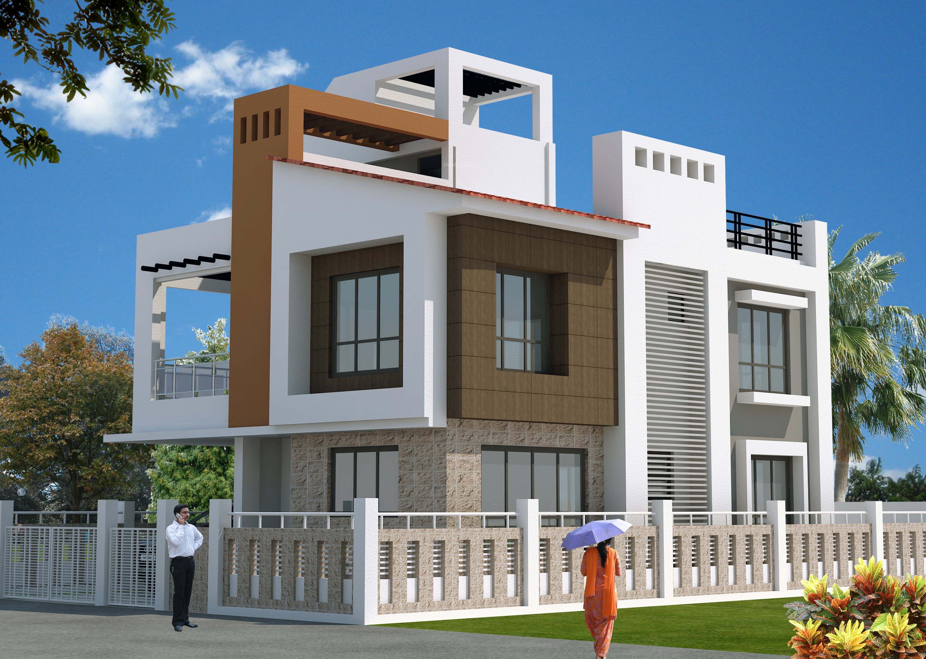 1265 Sq Ft 3 BHK 3T Villa For Sale In Bloomsbury Infrastructure Convicity Villas New Town Kolkata