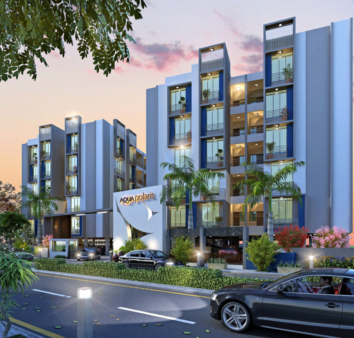 Polaris Apartments: 1872 Sq Ft 3 BHK 3T Apartment For Sale In Yash Developers