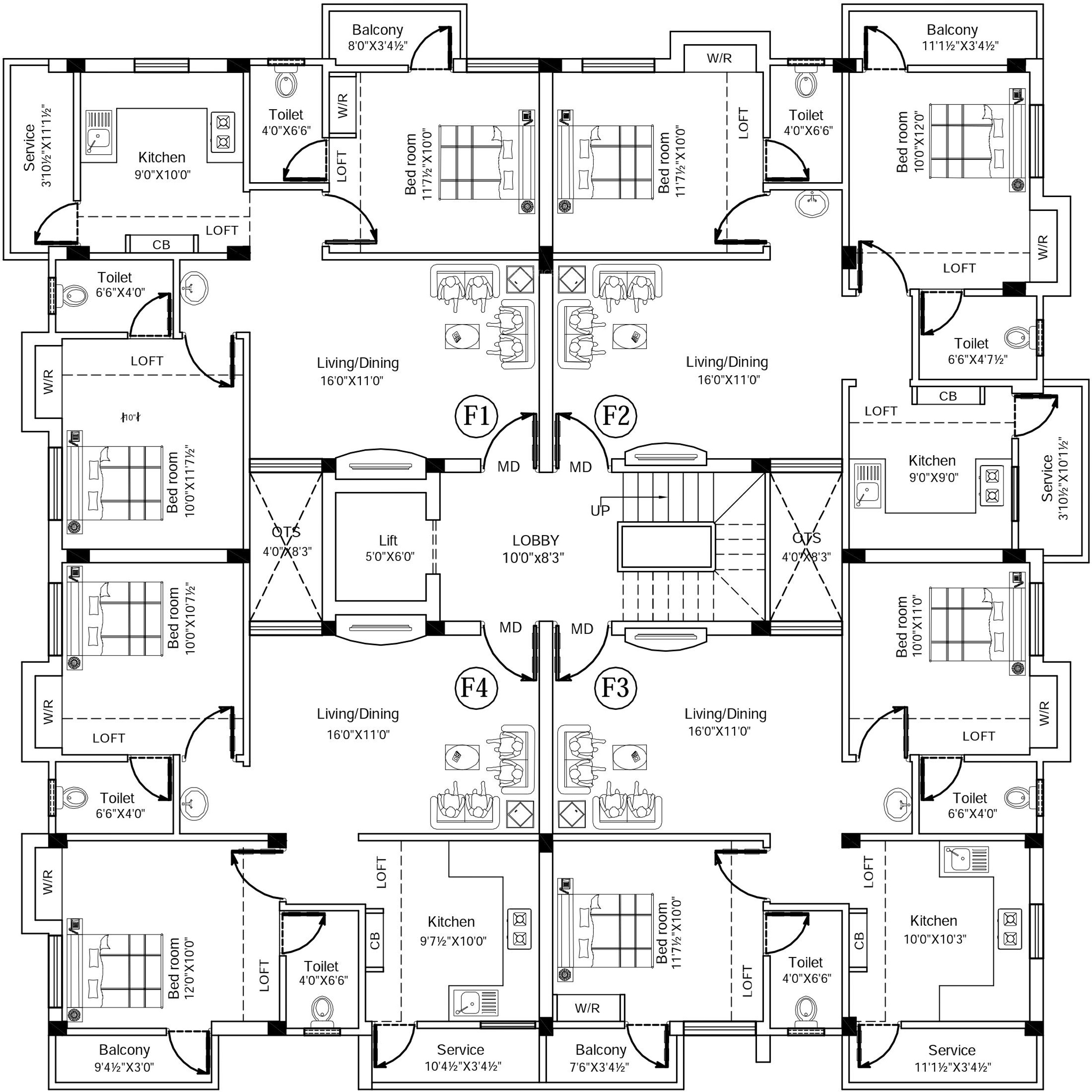 800 sq ft 2 bhk 2t apartment for sale in nila associates nila tech