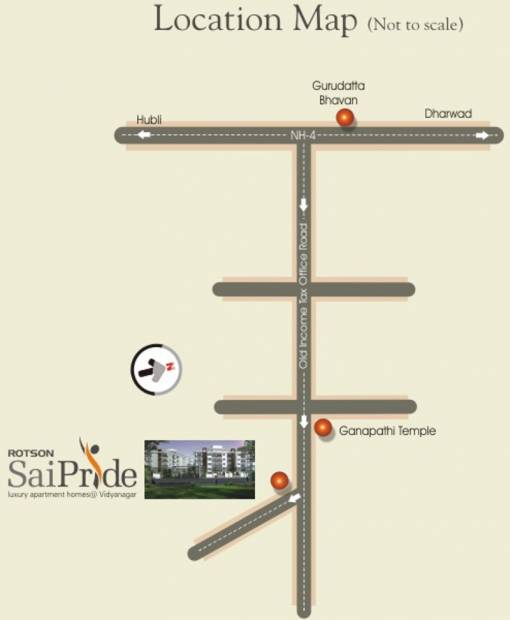 Images for Location Plan of Rotson Sai Pride