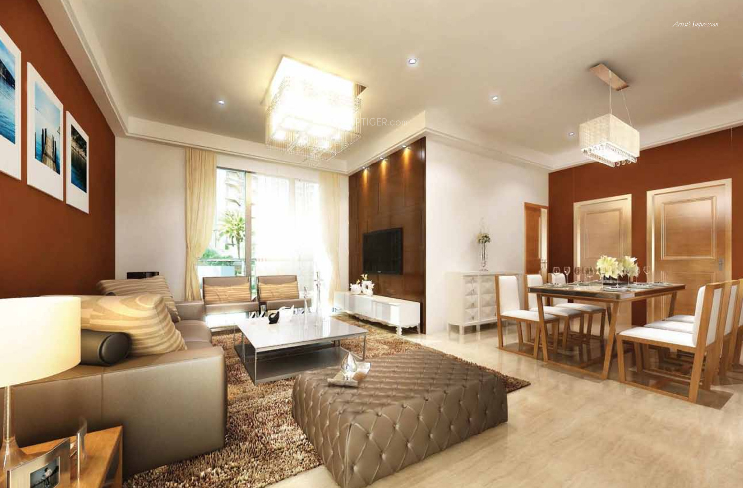 1385 Sq Ft 2 BHK 2T Apartment For Sale In Prestige Group Pinewood Koramangala Bangalore