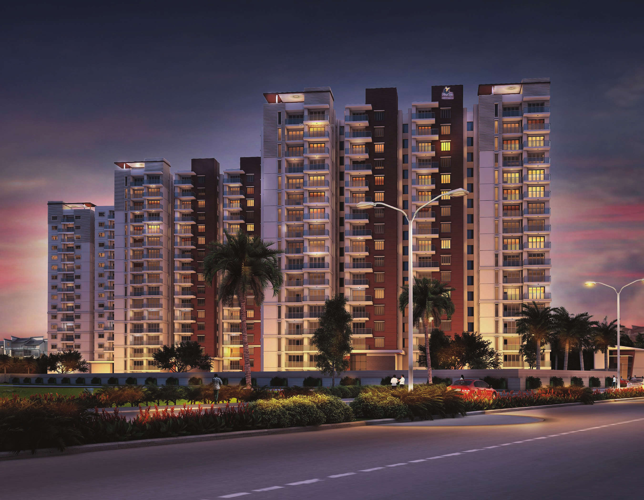 1355 sq ft 2 BHK 2T Apartment for Sale in Prestige Group Ivy