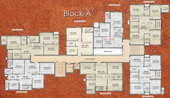 Images for Cluster Plan of Essen Raj Manohar Residency