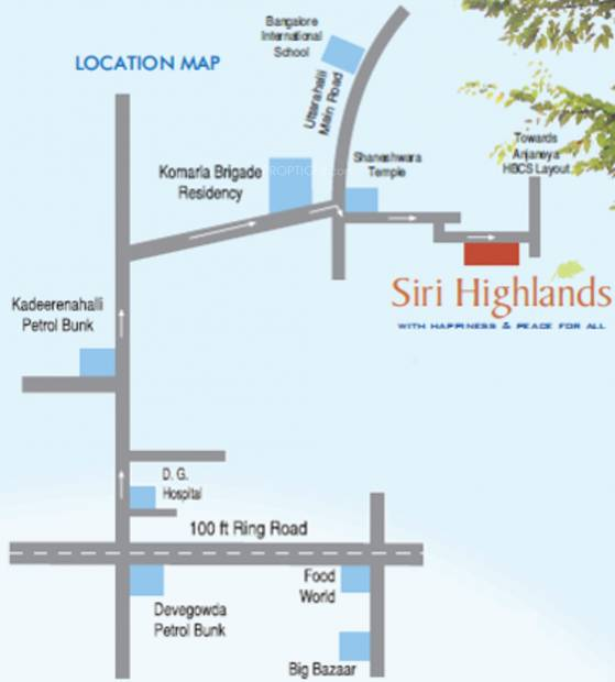 Images for Location Plan of Siri Highlands