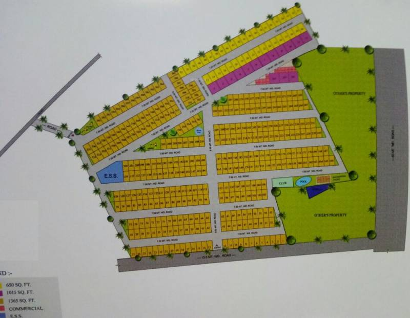 Images for Layout Plan of Renowned Lotus Villas