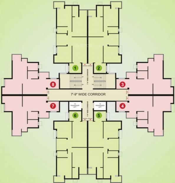 Images for Cluster Plan of Pushpanjali Habitat