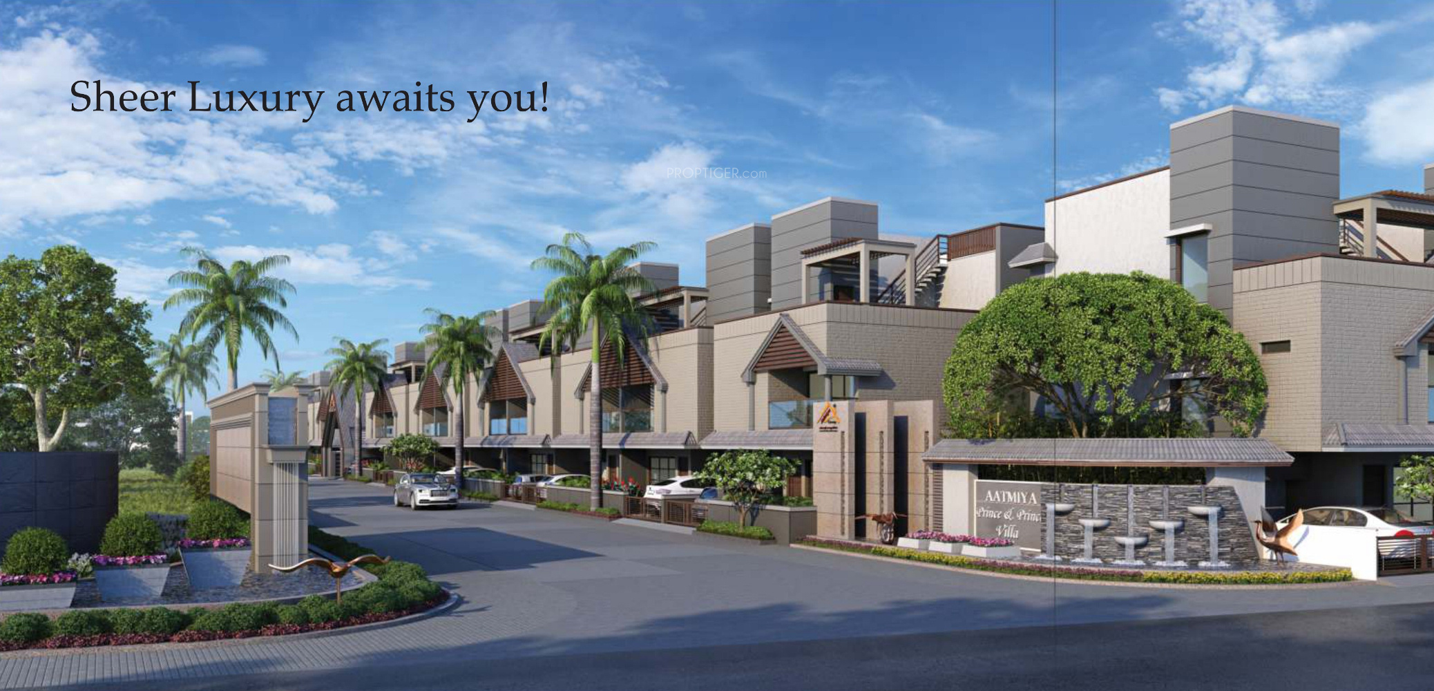 main elevation image 1 of aatmiya group prince and princess villa main elevation image 1 of aatmiya group prince and princess villa unit available at gotri road vadodara proptiger com