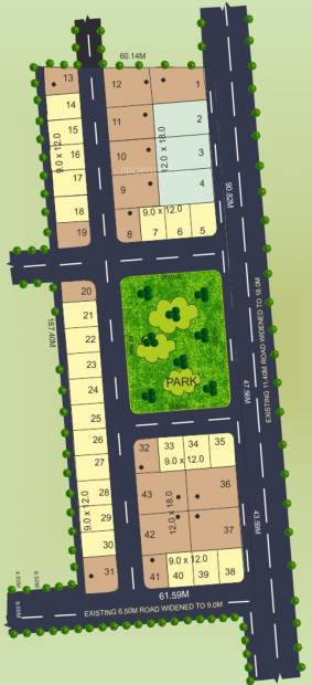 Images for Layout Plan of Manasa Devine